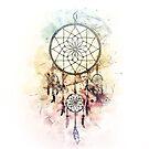 « Attrape-rêves / Dreamcatcher V2 » par Chrystelle Hubert