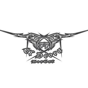 77 El Deora -Low Rider Logo by 77eldeora