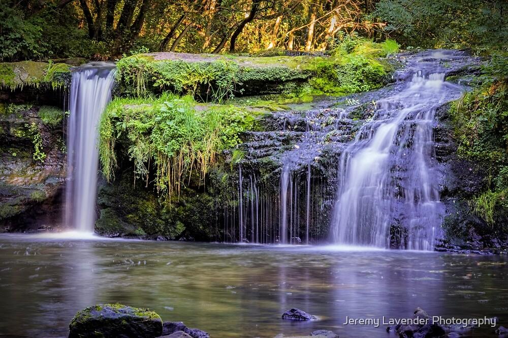 Black Devon Waterfalls by Jeremy Lavender Photography