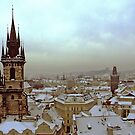 Beautiful Prague Skyline by Martin Virveste
