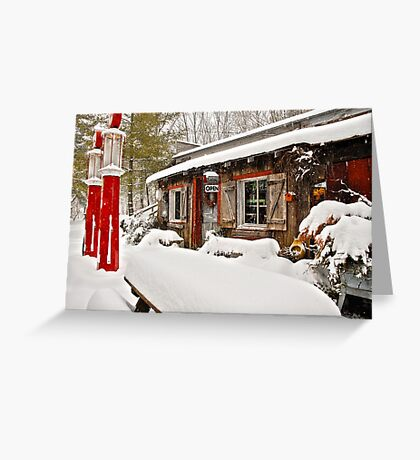 We Never Close! Greeting Card