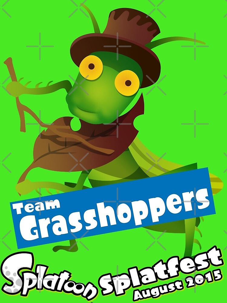 Splatfest Team Grasshoppers v.1 by KumoriDragon