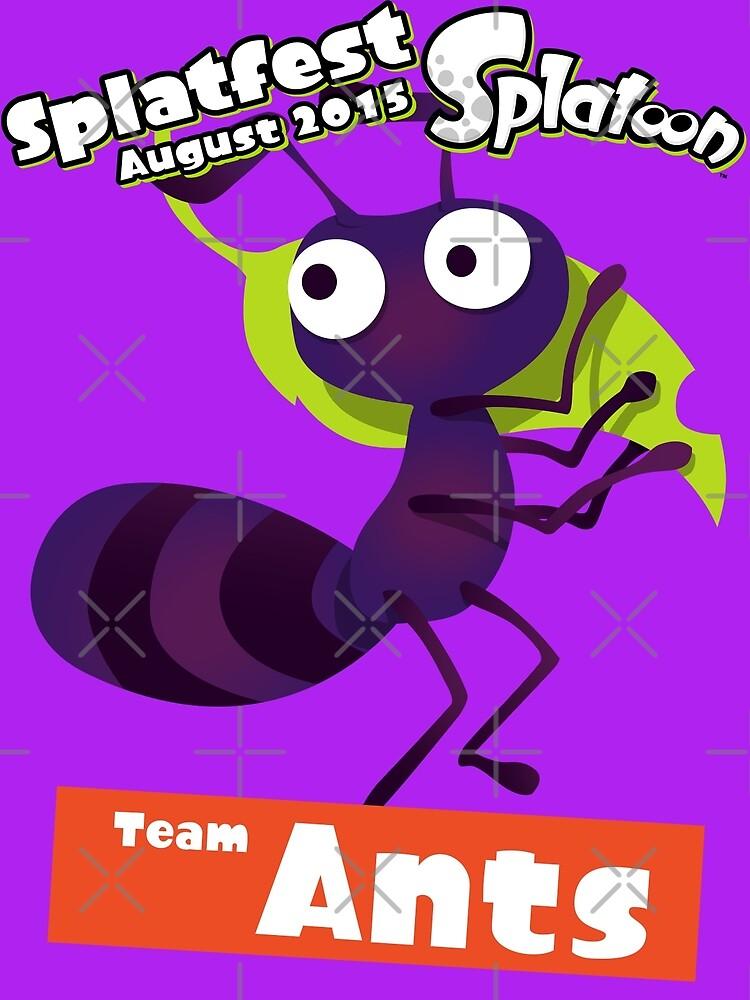 Splatfest Team Ants v.1 by KumoriDragon