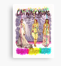 Pregnancy: Catwalk Mums Canvas Print