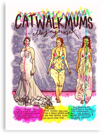 Pregnancy: Catwalk Mums by ellejayerose