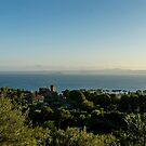 Evening at Lake Bolsena by MarcW