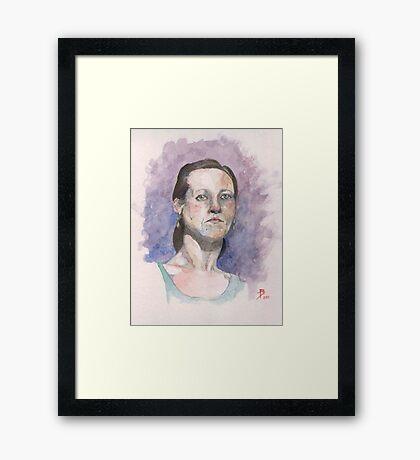 Roxanne Framed Print