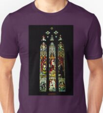 0545 Stained Glass Window Unisex T-Shirt