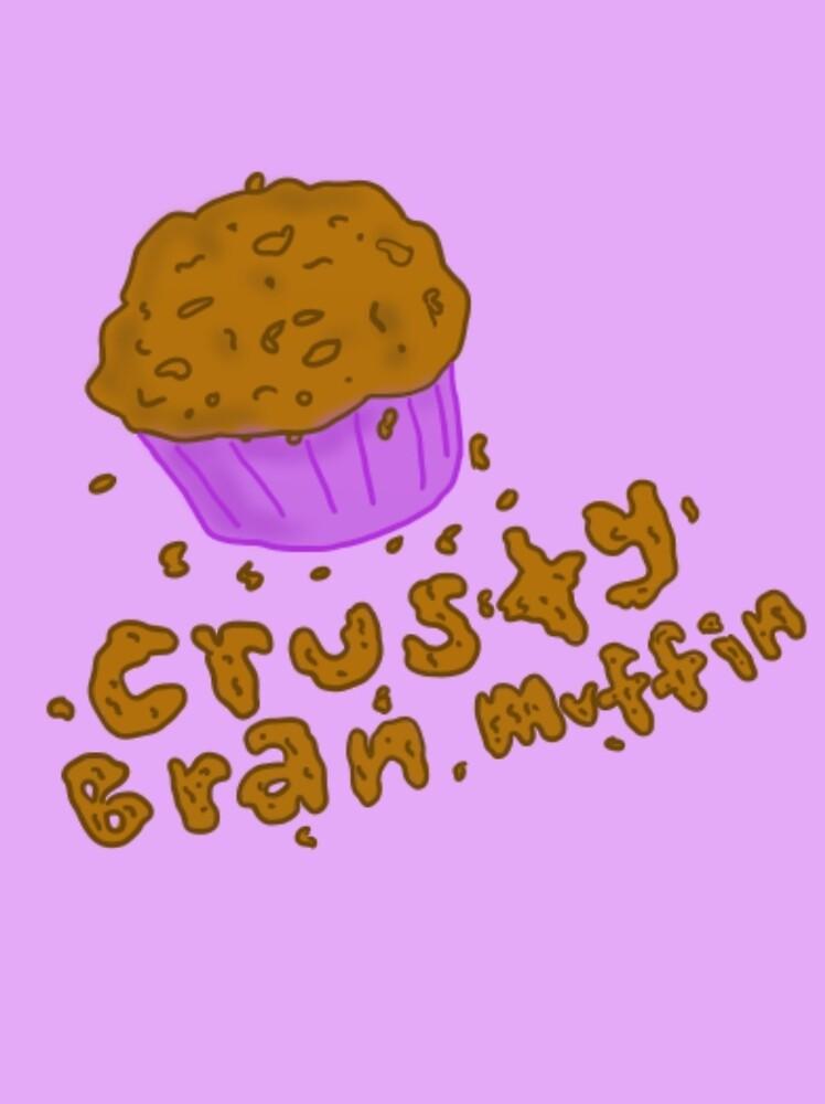Crusty Bran Muffin by treblemakeranna