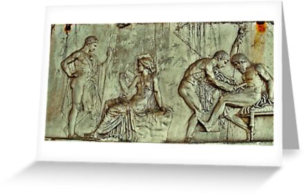 Herculaneum - Group of  Figures by TAMalloyPhoto