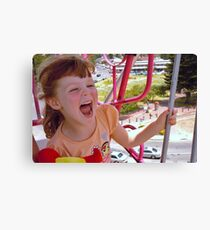 Childs play! Canvas Print