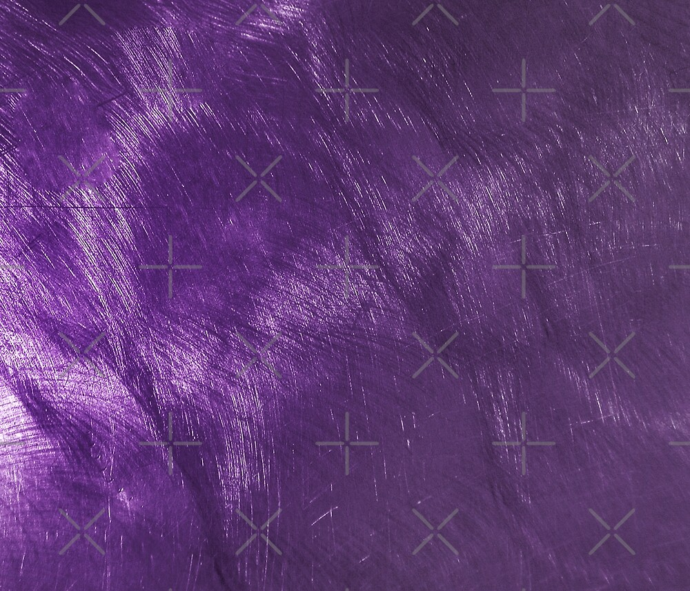 Purple Metallic Background Scratched Steel Look by artonwear