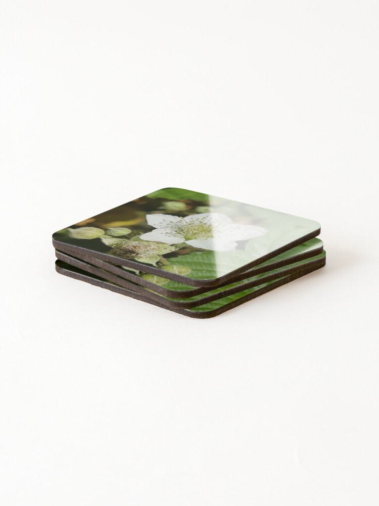 Alternate view of Bramble Blossom Coasters (Set of 4)