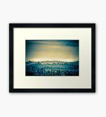 French Landscape Framed Print