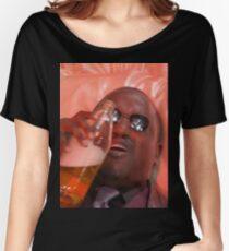 MORPHEUSDRINKINAFORTYINADEATHBASKET Women's Relaxed Fit T-Shirt