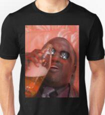 MORPHEUSDRINKINAFORTYINADEATHBASKET Slim Fit T-Shirt