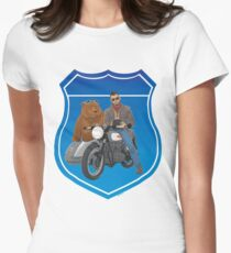 Sunday Ride Women's Fitted T-Shirt
