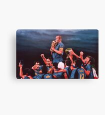 Italia the Blues Canvas Print