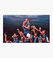 Italia the Blues Photographic Print