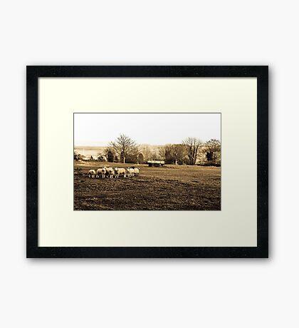Rural Kent Framed Print