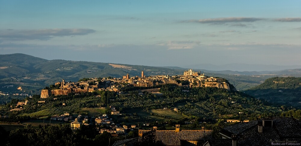 Evening in Orvieto  by MarcW
