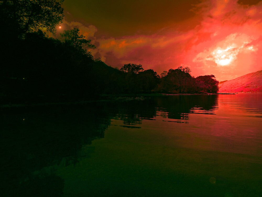 FIRE IN THE SKY  by leonie7