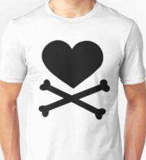 Pirate Love (Black). Unisex T-Shirt