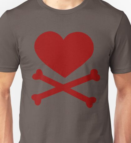 Pirate Love (Red). T-Shirt