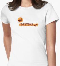 Daytona Beach. Womens Fitted T-Shirt