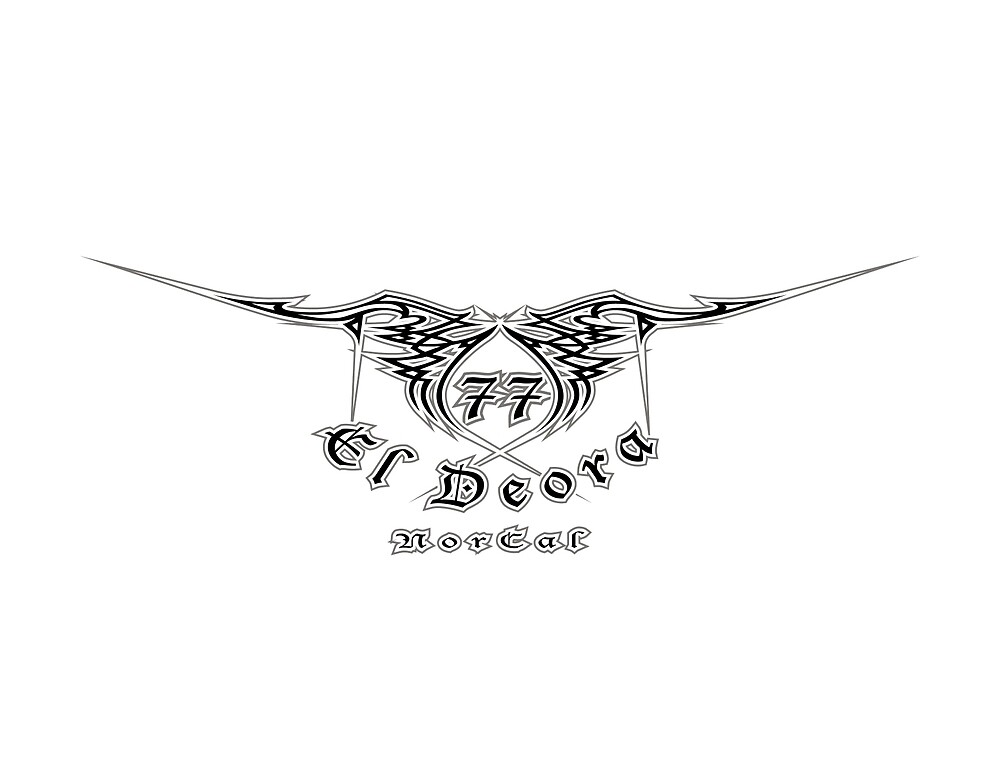 77 El Deora -Low Rider Logo (reverse) by 77eldeora