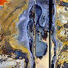abstract melted paint by Brian  Moriarty