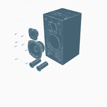 Speaker Explode   by hendoNZ