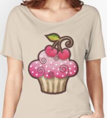 Cherry Berry Cupcake Women's Relaxed Fit T-Shirt