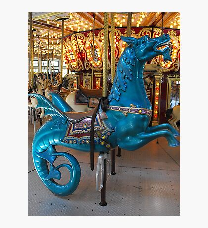 Hippocampus carousel ride Photographic Print