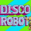 Disco Robot by DarkRubyMoon