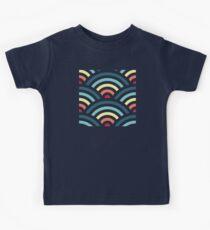 rainbowaves (dark) Kids Clothes