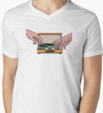 music  Men's V-Neck T-Shirt