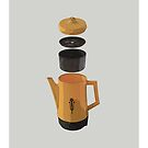 Yellow Coffee Pot by Sam Henderson