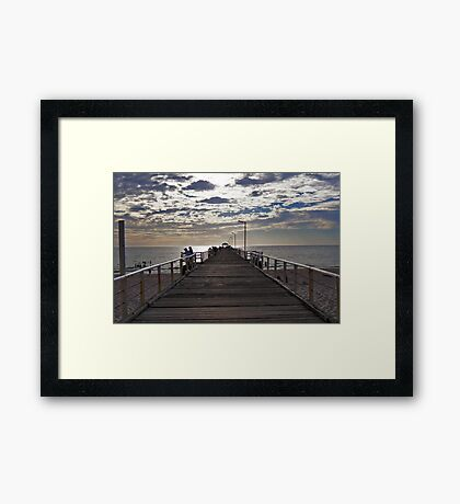 Henley Beach Jetty - South Australia Framed Print