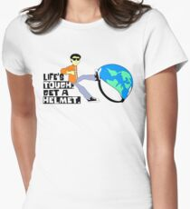 Life's Tough Women's Fitted T-Shirt