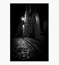 Old Kipper Shop Street Photographic Print