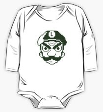 Green Plumber One Piece - Long Sleeve