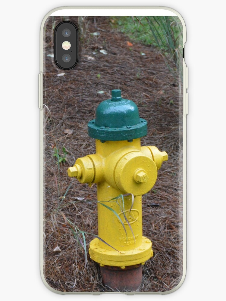 Yellow Fire Hydrant by Katie Smith