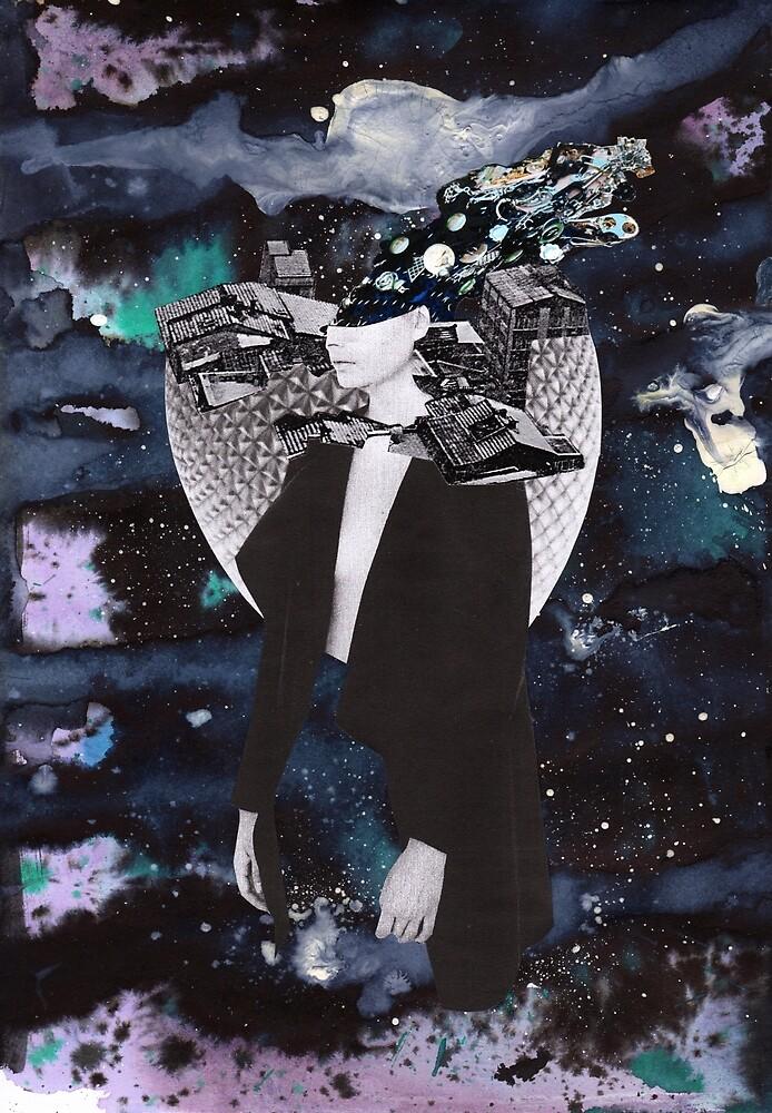 Scraps of Poetry 3 by von Alarich Collage