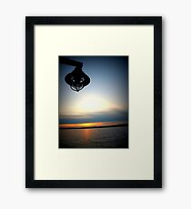 Lomography Sunset Framed Print