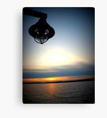 Lomography Sunset Canvas Print