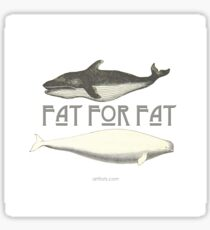 Fat4Fat Sticker