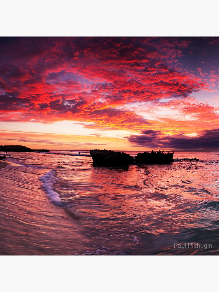 Trigg Beach Sunset by paulmp