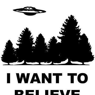 """""""I want to believe"""" X Files by mafaldamaria"""