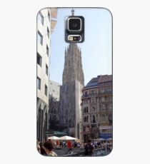 St. Stephen's Plaza, Vienna, Austria Case/Skin for Samsung Galaxy